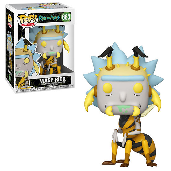 Pop! Animation Rick and Morty Vinyl Figure Wasp Rick #663