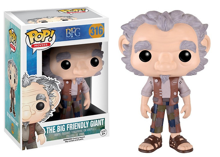 Pop! Movies The BFG Vinyl Figure The Big Friendly Giant #316 (Vaulted)