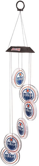 Edmonton Oilers Logo Light Up Discs Solar Mobile