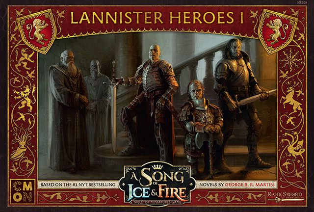 A Song of Ice & Fire: Lannister- Heroes 1