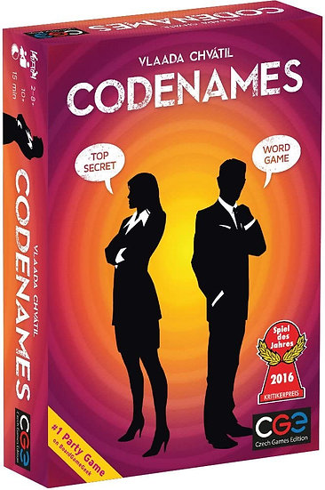 Codenames Party Game By Czech Games