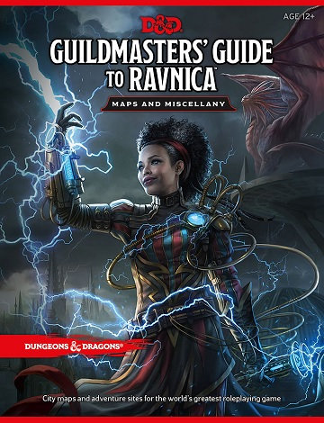 Dungeons & Dragons (5th Ed.): GUILDMASTERS GUIDE TO RAVNICA- MAPS AND MISCELLANY
