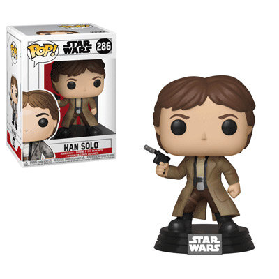 Pop! Star Wars Return of the Jedi Vinyl Bobble-Head Han Solo (Endor) #286