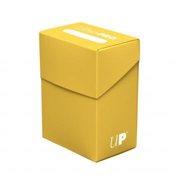 Ultra Pro Yellow Deck Box For Collectible Cards