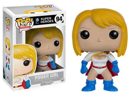 Pop! Heroes DC Super Heroes Vinyl Figure Power Girl #94 (Vaulted)