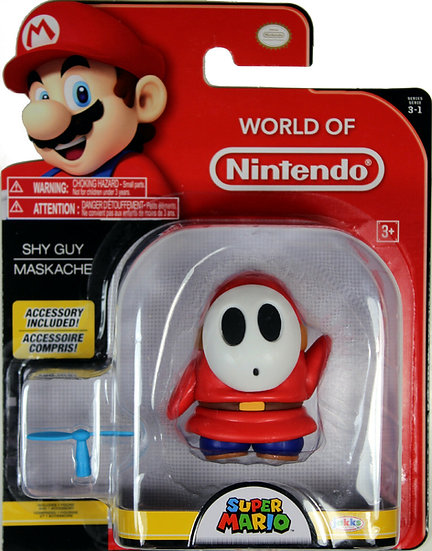 SHY GUY (WAVE 13) ACTION FIGURE ~ Super Mario Bros.