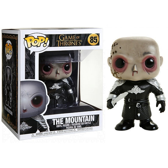 """Pop! Television Game of Thrones Vinyl Figure 6"""" The Mountain #85"""