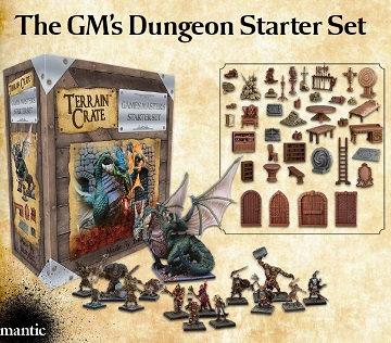 Terrain Crate: GM Dungeon Starter Set