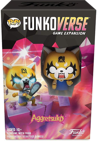 Funkoverse Strategy Game 1PK Aggretsuko Expansion