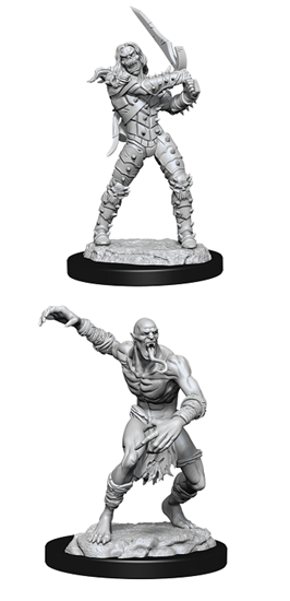 Dungeons & Dragons Nolzur's Marvelous Miniatures: WIGHT AND GHAST