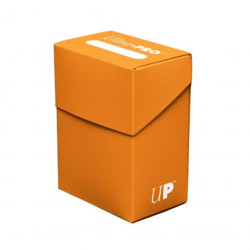 Ultra pro Pumpkin Orange Deck Box For Collectible Cards