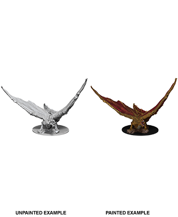 Dungeons & Dragons Nolzur's Marvelous Miniatures: Young Brass Dragon