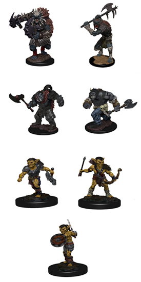 D&D Icons of the Realms: Monster Packs - Village Raiders