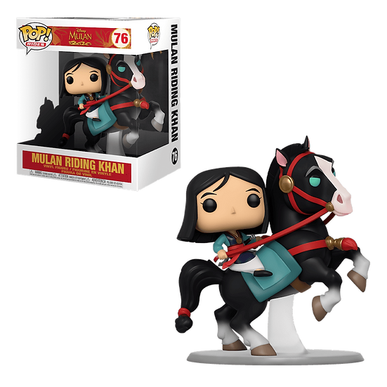Funko Pop Rides Disney Mulan & Khan #76