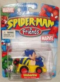 Spider-Man & Friends: Wolverine Race Car Buddies figure