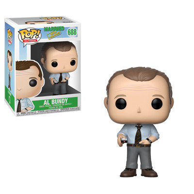Pop! Television Married with Children Vinyl Figure Al Bundy #688 (Box Damage))