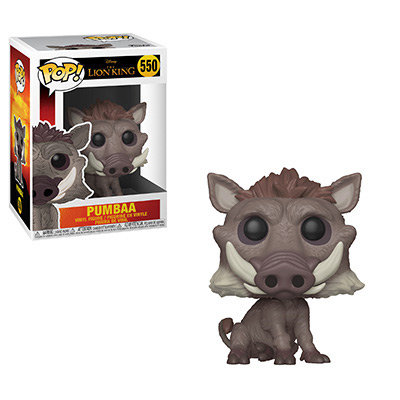 Pop! Disney Lion King Vinyl Figure Pumbaa #550