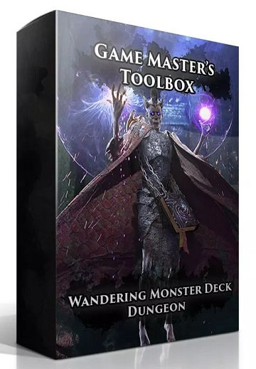 Game Master's Toolbox: Wandering Monsters Deck- Dungeon