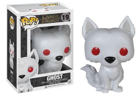 Pop! Television Game of Thrones Vinyl Figure Ghost #19