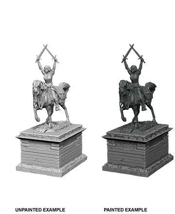 WizKids Deep Cuts: Heroic Statue