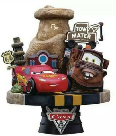 Cars 3 D-Select Series DS-009 6-Inch Statue - Previews Exclusive Diorama