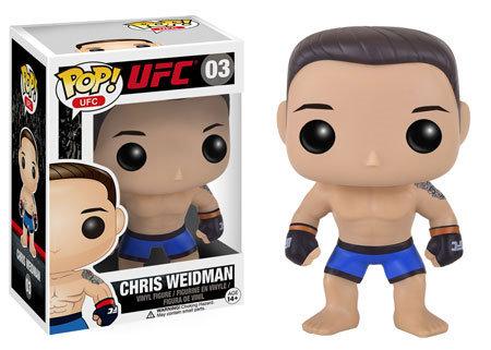 Pop! UFC Vinyl Figure Chris Weidman #03