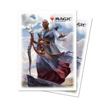 Dominaria Deck Protector sleeves Teferi, Hero of Dominaria for Magic 80ct