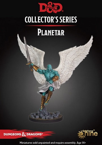 Dungeon of the Mad Mage - Planetar Miniature