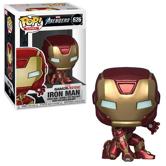 Pop! Games Marvel Avengers Vinyl Bobble-Head Iron Man #626