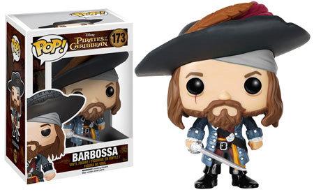 Pop! Disney Pirates of the Caribbean Vinyl Figure Barbossa #173 (Vaulted)