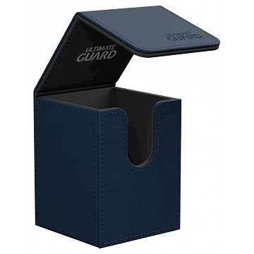 Ultimate Guard: Leather Flip Deck Case 100+: Dark Blue