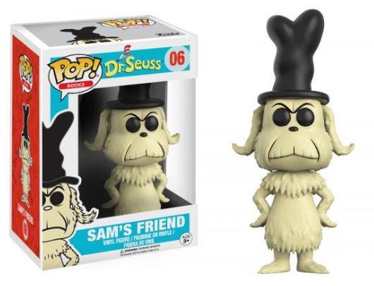 Pop! Books Dr. Seuss Vinyl Figure Sam's Friend #06