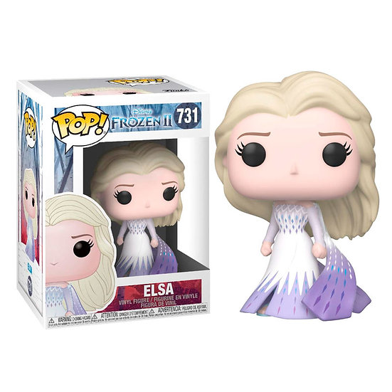Pop! Disney Frozen II Vinyl Figure Elsa #731