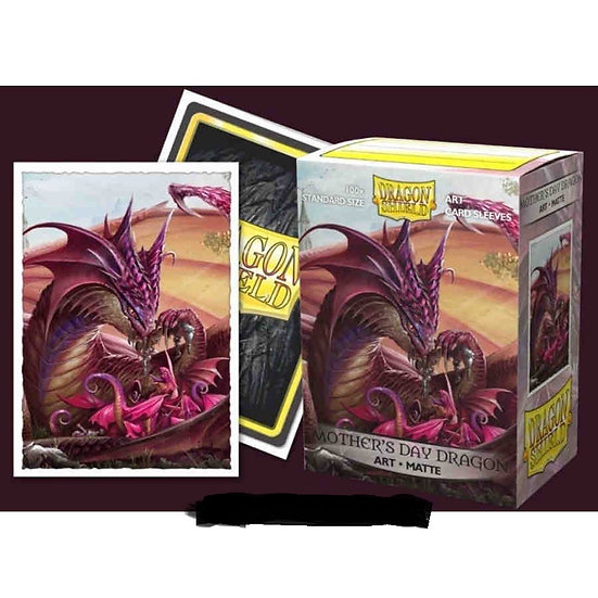 DRAGON SHIELD SLEEVES: ART MATTE 2020 MOTHER'S DAY DRAGON