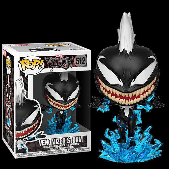 Pop! Marvel Venom Vinyl Bobble-Head Venomized Storm #512