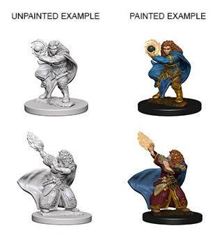 Dungeons & Dragons Nolzur's Marvelous Miniatures: Dwarf Wizard (Female)