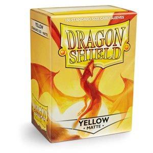 Dragon Shields: Matte Card Sleeves (100): Yellow