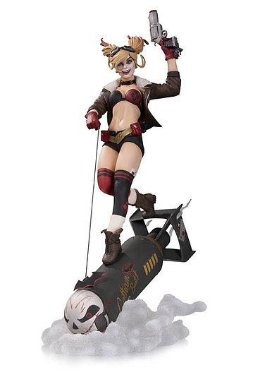 DC Bombshells Harley Quinn Deluxe Statue LTD /5000