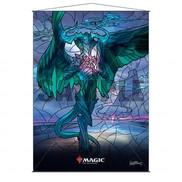 Stained Glass Planeswalkers Wall Scroll Ugin for Magic