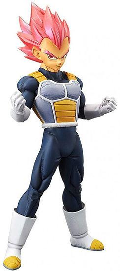 Dragon Ball Z Cyokoku Buyuden Collection Super Saiyan God Vegeta 8.4 Figure
