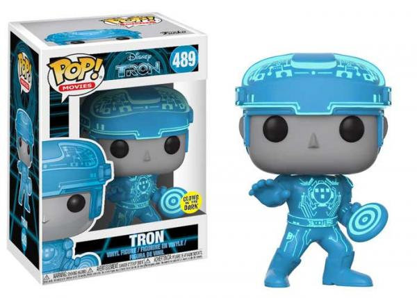 Pop! Movies Tron Vinyl Figure Tron (Classic) #489