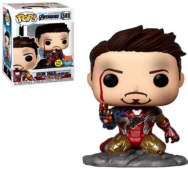 Funko Avengers Endgame POP! Marvel Iron Man Exclusive Vinyl Bobble Head #580