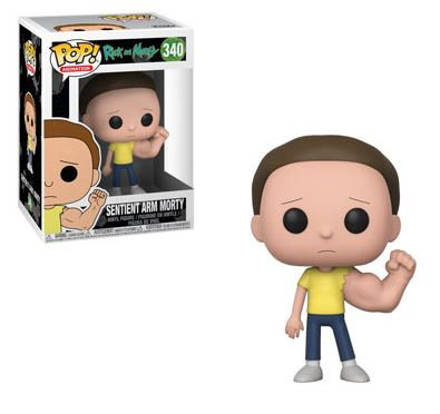 Pop! Animation Rick and Morty Vinyl Figure Sentient Arm Morty #340