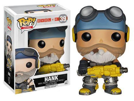Pop! Games Evolve Vinyl Figure Hank #39 (Vaulted)
