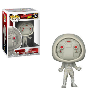 Pop! Marvel Ant-Man and the Wasp Vinyl Bobble-Head Ghost #342