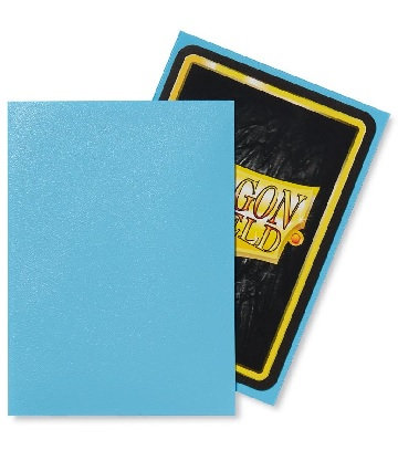 Dragon Shields: Matte Sleeves - Baby Blue (100ct)