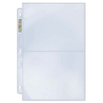 """2-Pocket Platinum Page with 5"""" X 7"""" Pockets"""