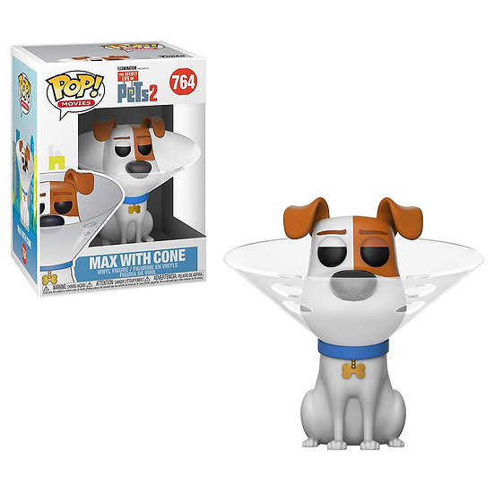 Pop! Movies The Secret Life of Pets 2 Vinyl Figure Max with Cone #764