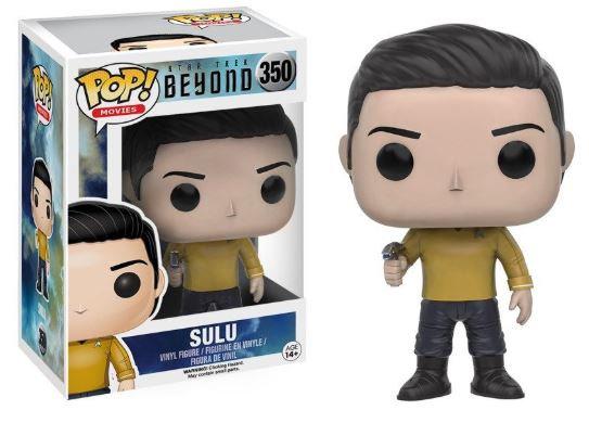 Pop! Movies Star Trek Beyond Vinyl Figure Sulu #350 (Vaulted)