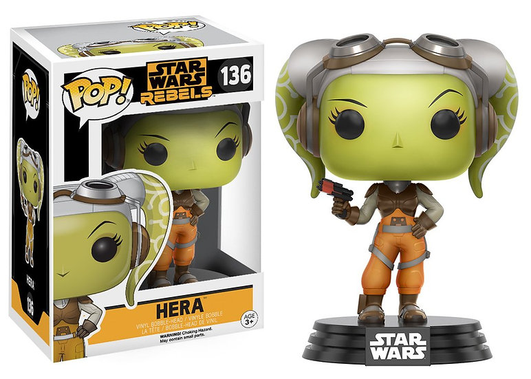 Pop! Star Wars Rebels Vinyl Bobble-Head Hera #136